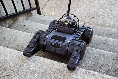 Avatar Tactical Robot - Going Up Steps