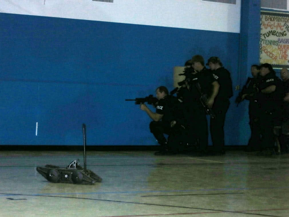 Police Department with Tactical Robot