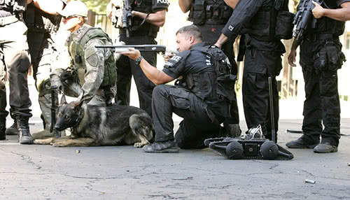 Robot SWAT K9 Unit