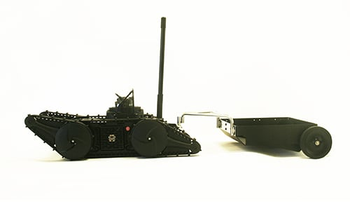 Hitch and Trailer for Tactical Robot