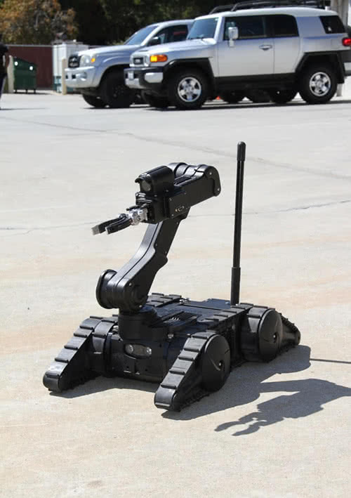 Avatar Robot with Arm Extension